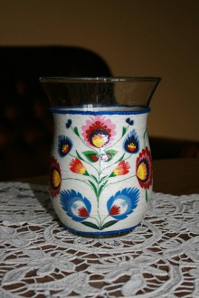 Dekorácie - Váza - folklór - 8560452_
