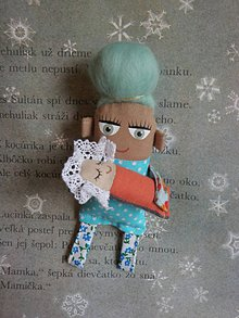 Magnetky - Maminka a miminko - 8558553_
