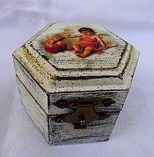 Krabičky - Anjelská krabička 4 - 8560423_