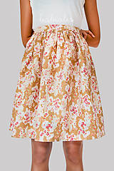 Sukne - Rose Japonais III - 8559307_