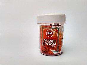 Farby-laky - Farba na vlnu Eurolana - Oranžová - 8559703_