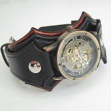 b03307669 Steampunk kožený remienok pre Apple hodinky hnedý / leon - SAShE.sk ...