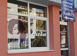Grafika - Kaderníctvo Zuzka branding novej predajne - 8558924_