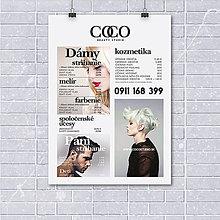 Grafika - Cenník pre beauty salón COCO - 8558965_