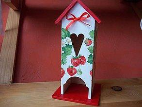 Krabičky - Domček na čajové vrecúška - 8559218_