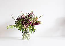 Dekorácie - Jesenná kytica - 8559573_