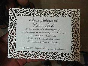 Papiernictvo - Svadobné oznámenie - 8559544_