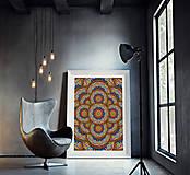 Grafika - Kaleidoskop mandal - 8557817_