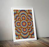 Grafika - Kaleidoskop mandal - 8557827_