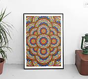 Grafika - Kaleidoskop mandal - 8557839_