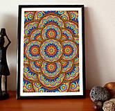 Grafika - Kaleidoskop mandal - 8557858_