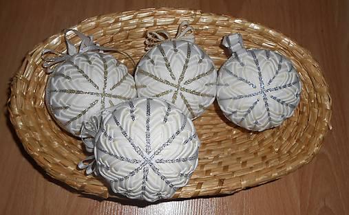 103613417 Vianočné gule patchwork / dadka123 - SAShE.sk - Handmade Dekorácie