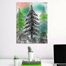 Grafika - Stromy art (strom 3) - 8559210_
