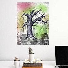 Grafika - Stromy art (strom 5) - 8559212_