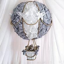 Detské doplnky - Teplovzdušný Lietajúci Balón - 8560914_