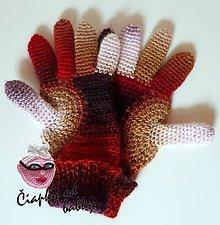 Rukavice - Prstové rukavice - 8561872_