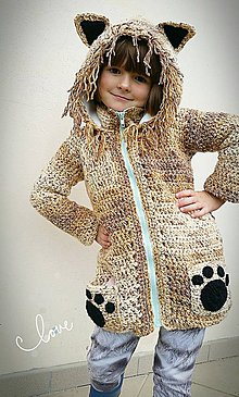 Detské oblečenie - Svetrík - zvieratkový ;) - 8561578_