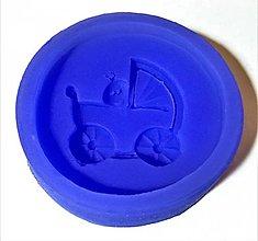 Pomôcky/Nástroje - Silikónová forma - detský kočík - 8564567_