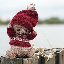 Hračky - Medvedík Ole - 8562449_