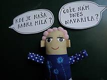 Magnetky - Babka Flóra - 8561900_