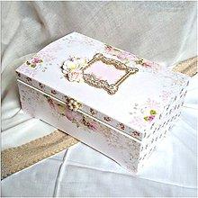 Krabičky - Svadobná truhlica - 8562286_