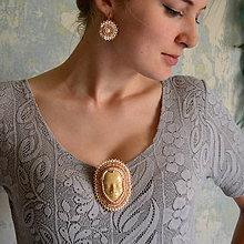 Sady šperkov - Porcelain Dolls  - vyšívaná sada - 8561581_