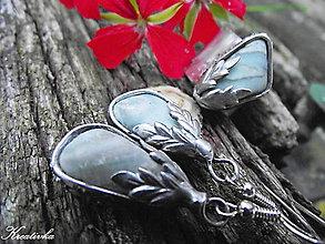Sady šperkov - Do neba........(sada - modrý kalcit) - 8563517_