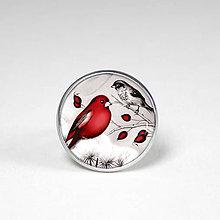 Prstene - Malý vtáčik - Prstienok - uni veľkosť - originálny motív - 8560799_