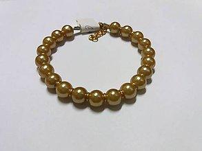 Náramky - Zlatý náramok - 8561953_