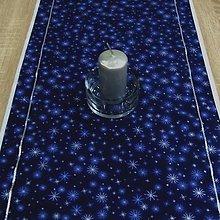 Úžitkový textil - Mrazivá noc - obrus obdĺžnik 105x40 - 8563389_