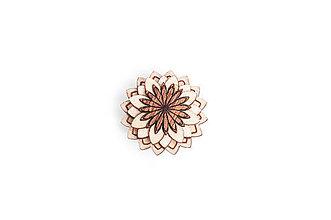 Šperky - Ozdoba do chlopne Cubo Flower - 8568495_