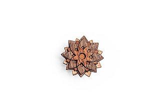 Šperky - Ozdoba do chlopne Buteo Flower - 8568529_