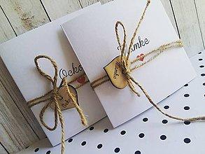 Darčeky pre svadobčanov - Poďakovanie pre jeannis - 8568769_