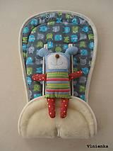 Textil - MERINO podložka do kočíka BUGABOO Bee / Buffalo/ Cameleon/ Donkey/ Joolz 100% WOOL - 8565473_