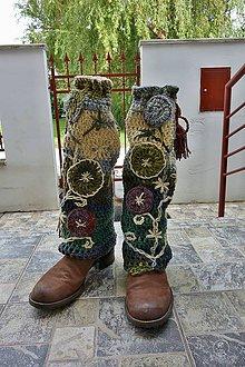 Obuv - Štucne-návleky na nohy \