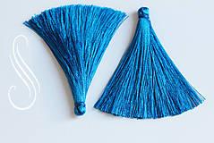 Polotovary - strapec modrý 65mm/2ks - 8567905_