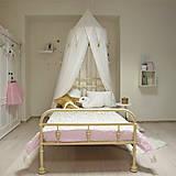 Úžitkový textil - Biely princeznovský baldachýn - 8568235_
