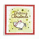 Papiernictvo - Pohľadnica Merry Christmas - 8565941_
