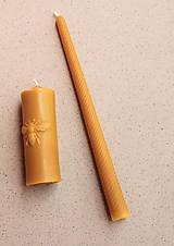 Svietidlá a sviečky - Sviečka vysoká točená - 8567692_