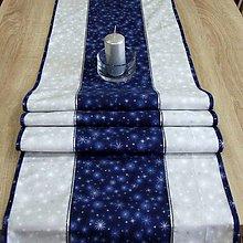 Úžitkový textil - Mrazivá noc - stredový obrus(2) 155x41 - 8566289_