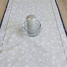 Úžitkový textil - Mrazivá noc - obrus obdĺžnik(2) 105x40 - 8566309_