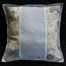 Úžitkový textil - Pastelovo romantické - vankúš(1) 40x40 - 8567468_