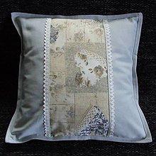 Úžitkový textil - Pastelovo romantické - vankúš(3) 40x40 - 8567811_