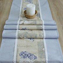 Úžitkový textil - Pastelovo romantické - stredový obrus 150x41 - 8568329_
