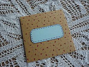 Papiernictvo - CD obal so srdiečkami - 8565329_