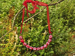 Náhrdelníky - Folk náhrdelník - 8566252_