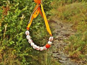 Náhrdelníky - Folk náhrdelník - 8566253_