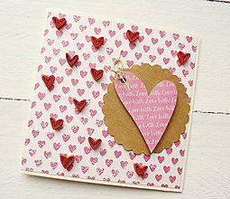 Papiernictvo - svadobná pohľadnica - 8566311_