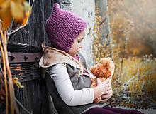 - Jesenno - zimný čepček pixie  - 8568916_