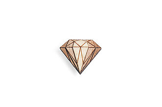 Šperky - Ozdoba do chlopne Diamond Lapel - 8568902_